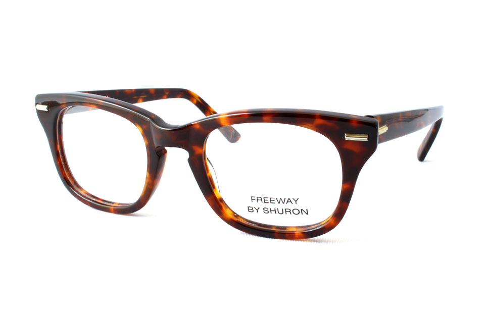 "SHURON シュロン ""FREEWAY"" Col.Demi Amber ¥16,200- [without tax ¥15,000-]"