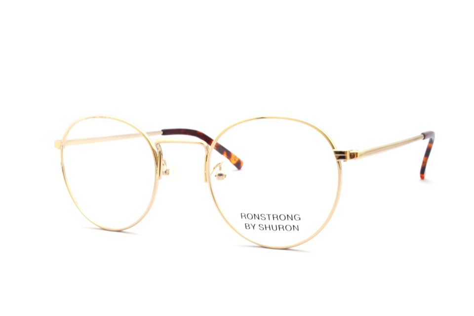 "SHURON シュロン ""RONSTRONG"" Col.Gold ¥20,520- [without tax ¥19,000-]"