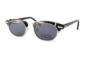 "SHURON シュロン ""RONSIR REVELATION Clip-On"" Col.Silver / Grey : Polarized ¥16,200- [without tax ¥15,000-]"