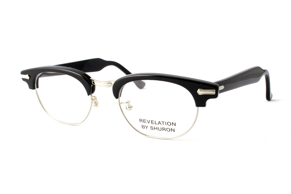 "SHURON シュロン ""RONSIR REVELATION Taper Temple"" Col.Ebony ¥19,440- [without tax ¥18,000-]"