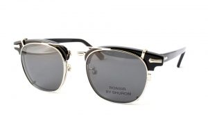 "SHURON シュロン ""RONSIR ZYL Clip-On"" Col.Silver / Grey : Polarized ¥16,200- [without tax ¥15,000-]"