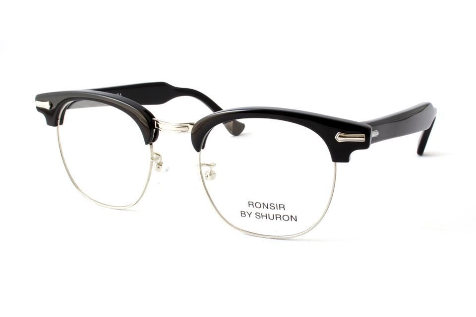 "SHURON シュロン ""RONSIR ZYL Taper Temple"" Col.Ebony ¥19,440- [without tax ¥18,000-]"